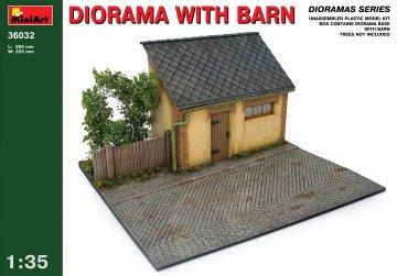 Diorama mit Stall · MA 36032 ·  Mini Art · 1:35