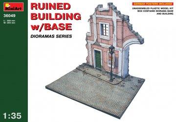 Ruined Building w/Base · MA 36049 ·  Mini Art · 1:35