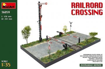 Railroad Crossing · MA 36059 ·  Mini Art · 1:35