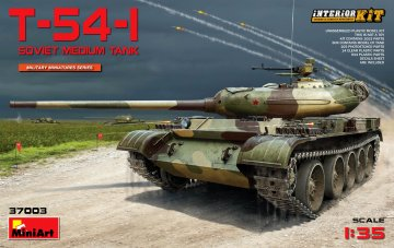 T-54-1 Soviet Medium Tank Interior Kit · MA 37003 ·  Mini Art · 1:35