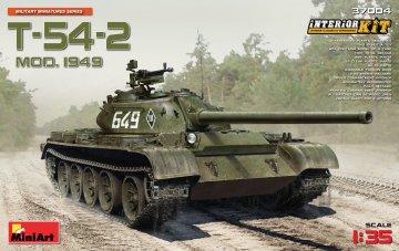 T-54-2 Mod.1949 Interior Kit · MA 37004 ·  Mini Art · 1:35