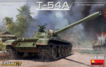 T-54A - Interior Kit · MA 37009 ·  Mini Art · 1:35