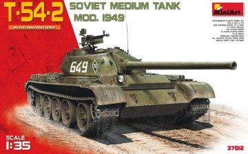 T-54-2 Mod. 1949 · MA 37012 ·  Mini Art · 1:35