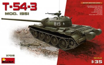T-54-3 Mod.1951 · MA 37015 ·  Mini Art · 1:35