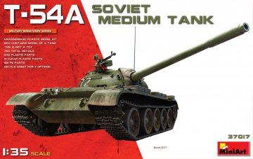 T-54A Soviet Medium Tank · MA 37017 ·  Mini Art · 1:35