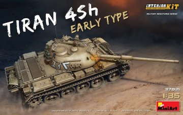 Tiran 4 Sh Early Type - Interior Kit · MA 37021 ·  Mini Art · 1:35