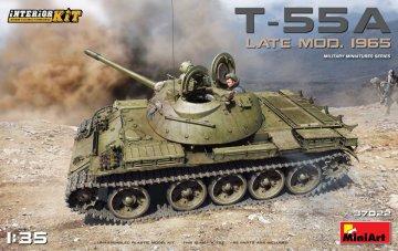 T-55A Late Mod.1965 - Interior Kit · MA 37022 ·  Mini Art · 1:35