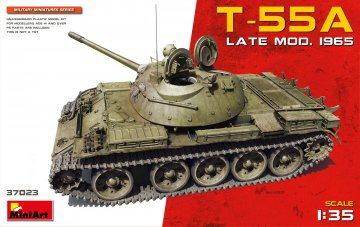 T-55A Late Mod. 1965 · MA 37023 ·  Mini Art · 1:35
