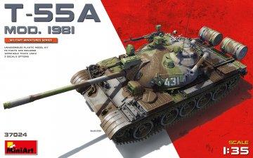 T-55A MOD.1981 · MA 37024 ·  Mini Art · 1:35