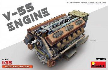 V-55 Engine · MA 37025 ·  Mini Art · 1:35