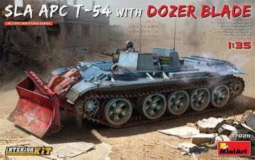 SLA APC T-54 w/Dozer Blade. Interior Kit · MA 37028 ·  Mini Art · 1:35