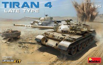 Tiran 4 Late Type. Interior Kit · MA 37029 ·  Mini Art · 1:35