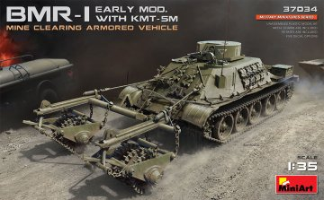BMR-1 Early Mod. with KMT-5M · MA 37034 ·  Mini Art · 1:35