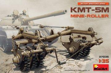 KMT-5M Mine-Roller · MA 37036 ·  Mini Art · 1:35
