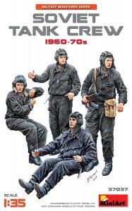 Soviet Tank Crew 1960-70s · MA 37037 ·  Mini Art · 1:35