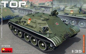 TOP Armoured Recovery Vehicle · MA 37038 ·  Mini Art · 1:35