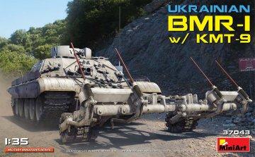 Ukrainian BMR-1 w/KMT-9 · MA 37043 ·  Mini Art · 1:35