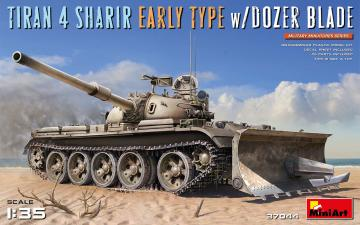 Tiran 4 Sharir Early Type w/Dozer Blade · MA 37044 ·  Mini Art · 1:35