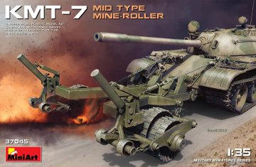 KMT-7 Mid Type Mine-Roller · MA 37045 ·  Mini Art · 1:35