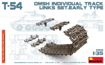 T-54 OMSh Individual Track Links Set. Early Type · MA 37046 ·  Mini Art · 1:35