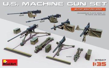 U.S. Heavy Machinegun Set · MA 37047 ·  Mini Art · 1:35