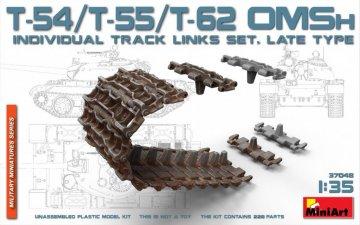 T-54/T-55/T-62 OMSh Individual Track Links Set.late Type · MA 37048 ·  Mini Art · 1:35