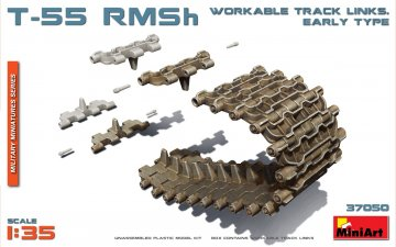 T-55 RMSh - Workable Track Links - Early Type · MA 37050 ·  Mini Art · 1:35