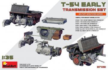 T-54 Early - Transmission Set · MA 37051 ·  Mini Art · 1:35