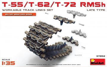 T-55/T-62/T-72 RMSh Workable Track Links Set.Late Type · MA 37052 ·  Mini Art · 1:35