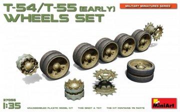 T-54/T-55(Early) Wheels Set · MA 37056 ·  Mini Art · 1:35
