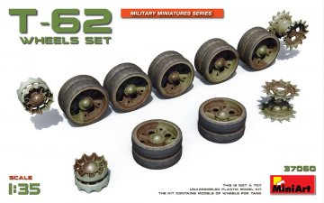 T-62 Wheels Set · MA 37060 ·  Mini Art · 1:35