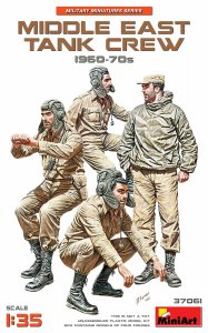 Middle East Tank Crew 1960-70s · MA 37061 ·  Mini Art · 1:35