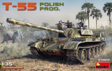 T-55 Polish Production · MA 37068 ·  Mini Art · 1:35