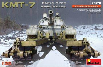 KMT-7 Early Type Mine-Roller · MA 37070 ·  Mini Art · 1:35