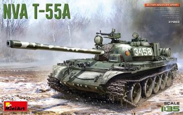 NVA T-55A · MA 37083 ·  Mini Art · 1:35