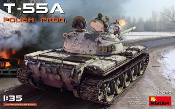 T-55A Polish Production · MA 37090 ·  Mini Art · 1:35
