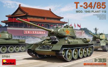 T-34/85 Mod. 1945. Plant 112 · MA 37091 ·  Mini Art · 1:35