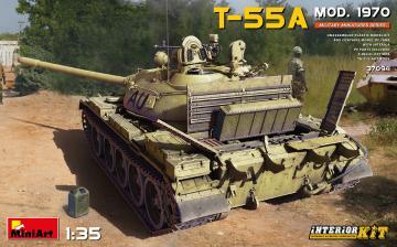 T-55A Mod. 1970 Interior Kit · MA 37094 ·  Mini Art · 1:35