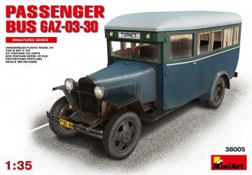 Passanger Bus GAZ-03-30 · MA 38005 ·  Mini Art · 1:35