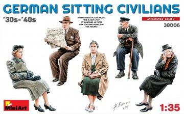 German Sitting Civilians´30s-´40s · MA 38006 ·  Mini Art