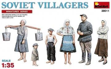 Soviet Villagers · MA 38011 ·  Mini Art · 1:35