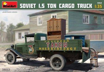Soviet 1,5 ton Cargo Truck · MA 38013 ·  Mini Art · 1:35