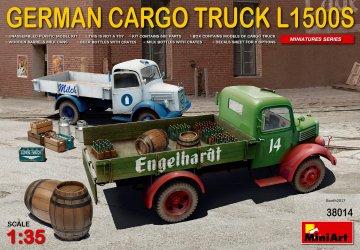 German Cargo Truck L1500S Type · MA 38014 ·  Mini Art · 1:35