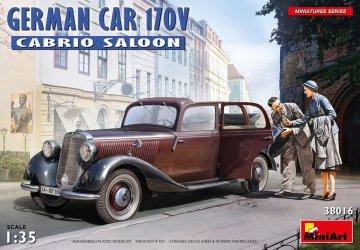 German Car 170V Cabrio Saloon · MA 38016 ·  Mini Art · 1:35