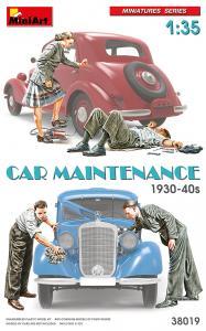 Car Maintenance 1930-40s · MA 38019 ·  Mini Art · 1:35