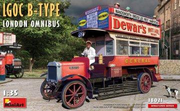 LGOC B-Type London Omnibus · MA 38021 ·  Mini Art · 1:35