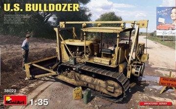 U.S. Bulldozer · MA 38022 ·  Mini Art · 1:35