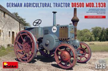 German Agricultural Tractor D8500 Mod. 1938 · MA 38024 ·  Mini Art · 1:35
