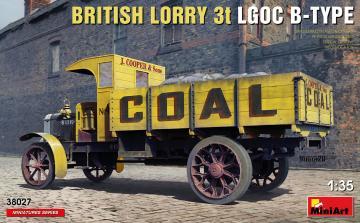 British Lorry LGOC 3t B-Type · MA 38027 ·  Mini Art · 1:35