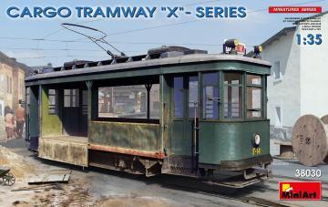 Cargo Tramway X-Series · MA 38030 ·  Mini Art · 1:35